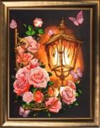 Розовый фонарь