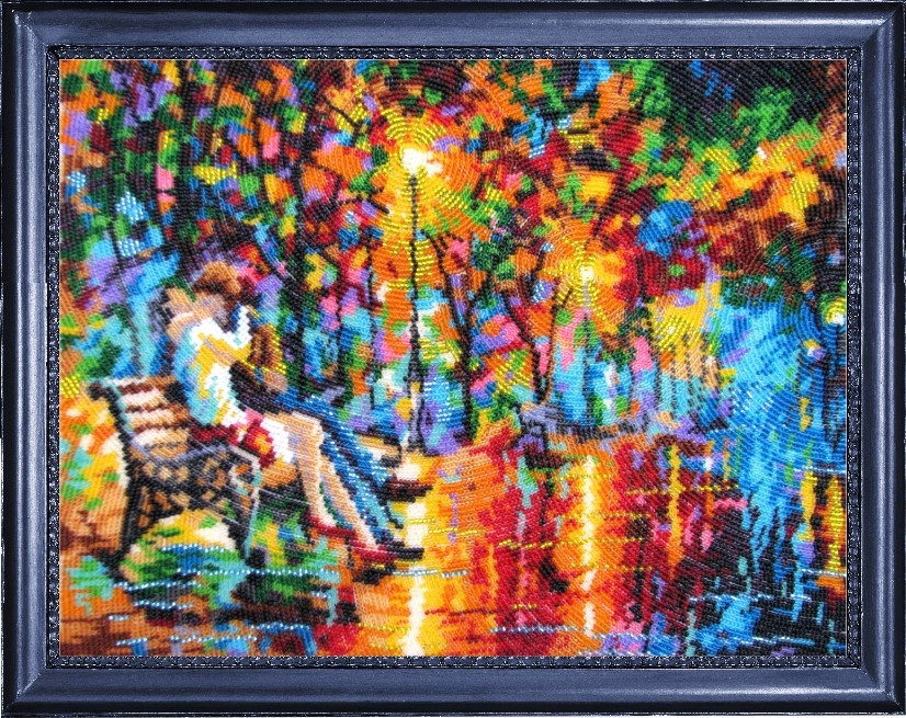 Вышивка бисером картин афремова 130