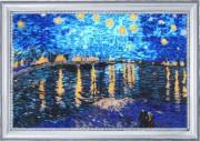 Зоряна ніч над Роною (за мотивами В. Ван Гога)