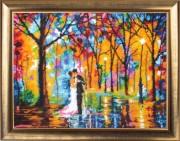 Весілля під дощем (за картиною Л. Афремова)