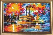 Steamboat (after L. Afremov)