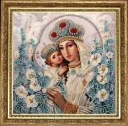 Mary and Jesus (after O. Okhapkin)