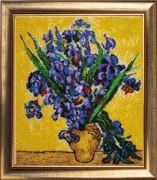 Irises after V. Van Gogh