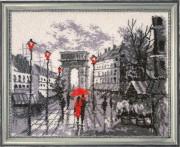 Тріумфальна арка (за картиною О. Дарчук)