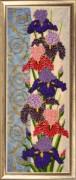 Panel with Irises