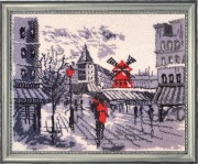 Moulin Rouge in Paris (after O. Darchuk)