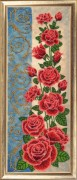 Панно с розами