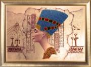 Набор для вышивания бисером Нефертити.