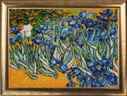 Полевые ирисы (по мотивам В. Ван Гога)