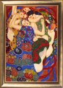 Virgins (after G. Klimt)